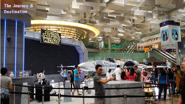 Star Wars Fighter at T3