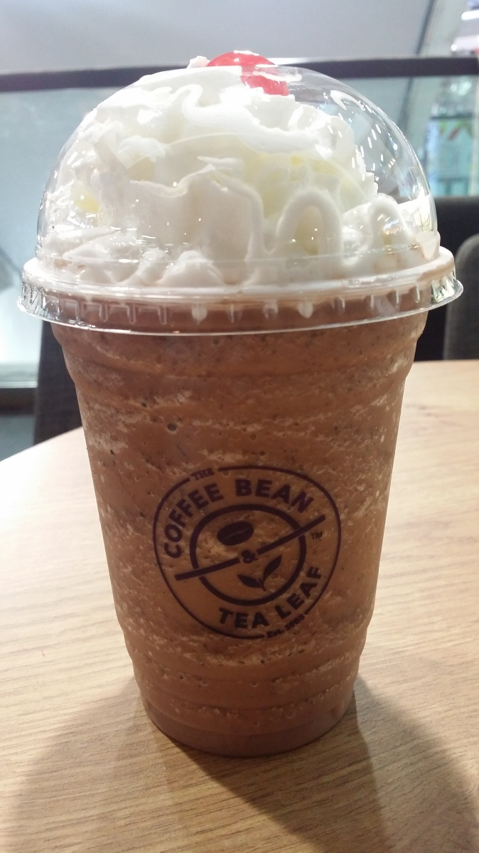 Black Forest Ice Blended Coffee Drink at The Coffee Bean ...