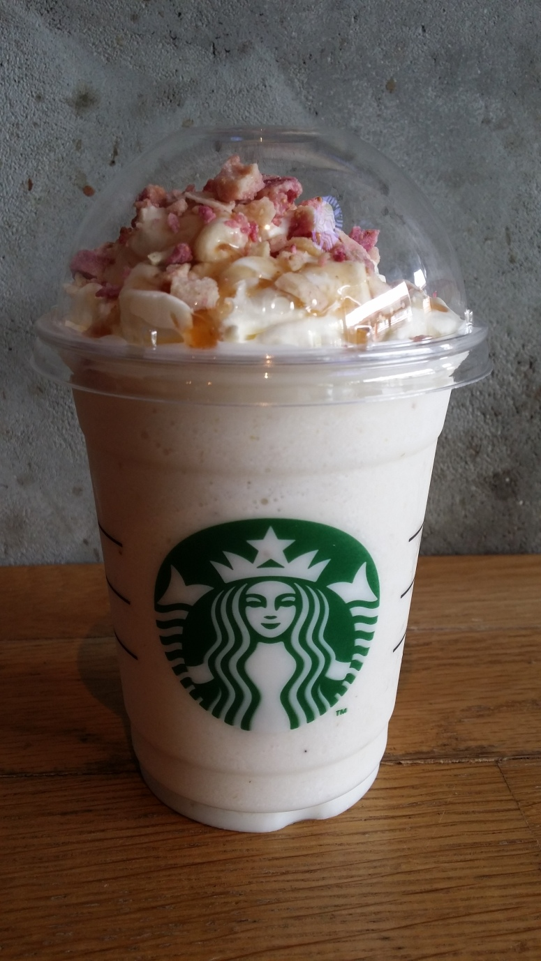 Vanilla Fig Frappe At Starbucks The Journey Destination